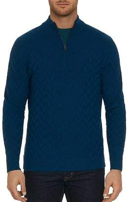 Robert Graham Rowley Chevron-Stitch Sweater