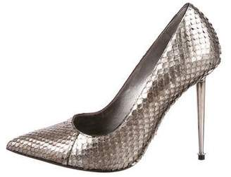 Tom Ford Python Pointed-Toe Pumps