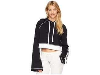 Juicy Couture Track Fleece Cropped Pullover Women's Fleece