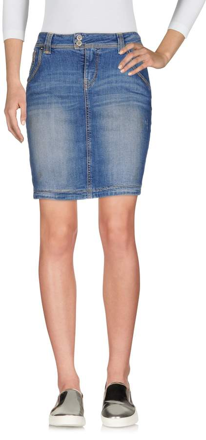 GUESS JEANS Denim skirts