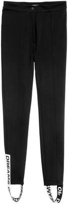 H&M Pants with Foot Straps - Black