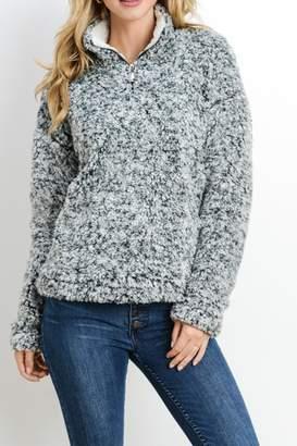 Paper Crane Popcorn Knit Sweater