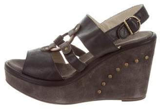Fiorentini+Baker Platform Leather Wedges