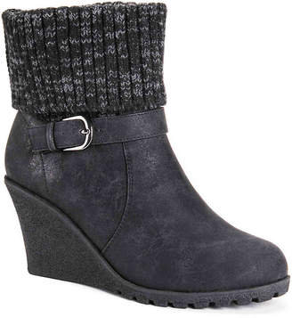 Muk Luks Georgia Wedge Bootie - Women's