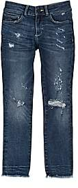 Chloé DL 1961 Kids' Distressed Skinny Jeans - Blue