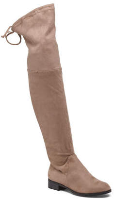 abc1d026cd8 Taupe Over The Knee Boot - ShopStyle