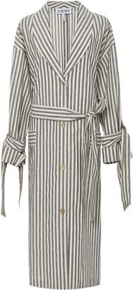 Loewe Stripe Duster Coat
