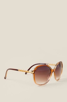 Cannes Square Sunglasses - Brown
