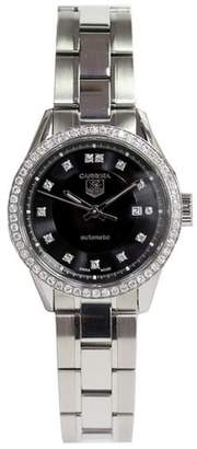 Tag Heuer Carrera WV2412 Stainless Steel Automatic Womens 28mm Watch