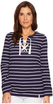 U.S. Polo Assn. Nautical Stripe T-Shirt Women's T Shirt