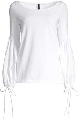 Mother of Pearl Rosetta Blouson Sleeve Top