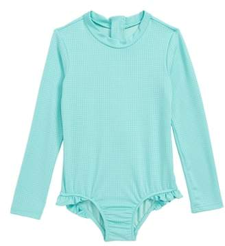 Seafolly One-Piece Rashguard Swimsuit