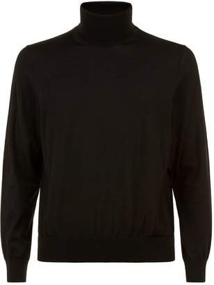 Ermenegildo Zegna Wool Roll Neck Sweater