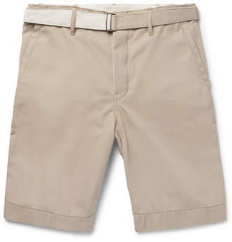 Sacai Cotton-Twill Shorts