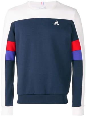 Le Coq Sportif football colour-black sweatshirt