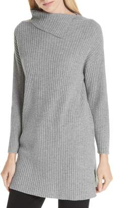 Eileen Fisher Ribbed Cashmere Tunic
