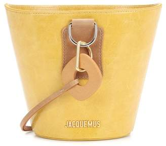 Jacquemus Le Sac Praia leather bucket bag