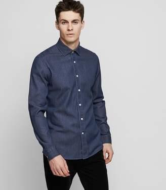 Reiss Dekyser Slim-Fit Denim Shirt