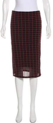Wolford Striped Pencil Skirt