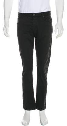 Burberry Nova Check-Lined Chino Pants black Nova Check-Lined Chino Pants