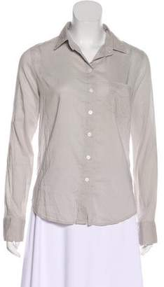 Band Of Outsiders Long Sleeve Button-Up Top