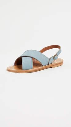 K. Jacques Osorno Crisscross Sandals