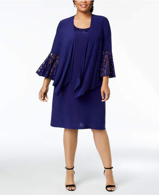 Plus Size Formal Jacket Dress Shopstyle