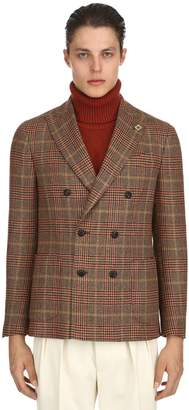 Lardini Exclusive English Fabric Wool Jacket