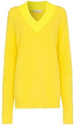 Tibi Knitted V-Neck Jumper