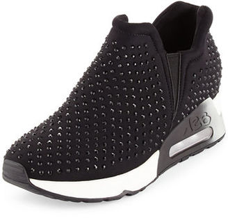 Ash Lifting Crystal Slip-On Sneaker $240 thestylecure.com