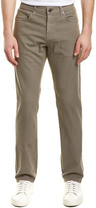 J Brand Kane Foliation Linen-Blend Straight Leg