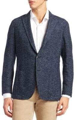 Saks Fifth Avenue COLLECTION Herringbone Suit Jacket