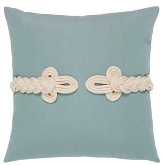 Frogs Clasp Indoor/Outdoor Accent Pillow
