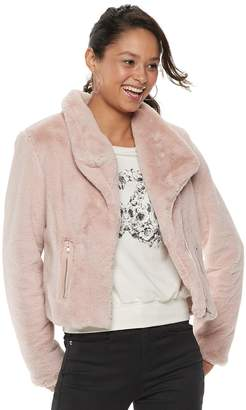 Disney Disney's The Nutcracker Juniors' Collection Faux-Fur Moto Jacket