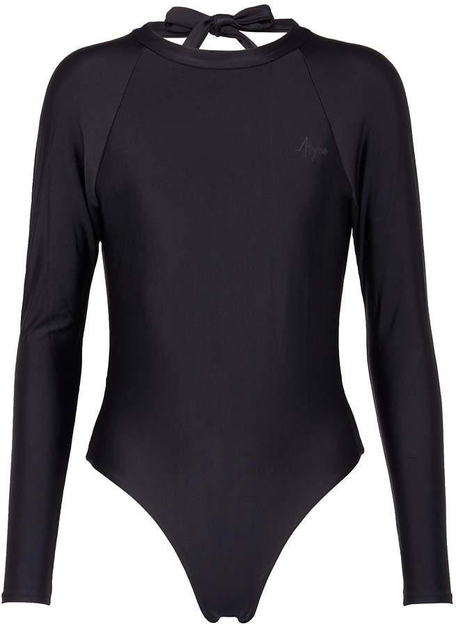 Abysse 'Billie' tie open back one piece swimsuit