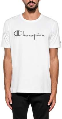 Paolo Pecora White Printed Cotton Jersey T-shirt