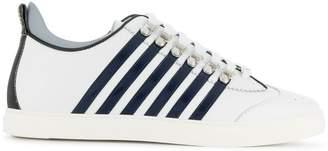DSQUARED2 striped side sneaker