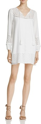 En Créme Crochet Lace Tassel Tie Dress - 100% Exclusive $68 thestylecure.com
