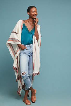 Anthropologie Thelma Striped Kimono