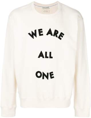 Each X Other embroidered slogan sweatshirt
