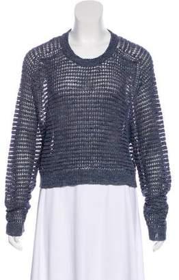 Theyskens' Theory Knit Crew Neck Sweater