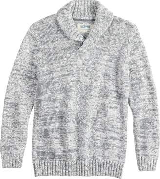 Boys 8-20 Urban Pipeline Shawl-Collar Pull-Over Sweater