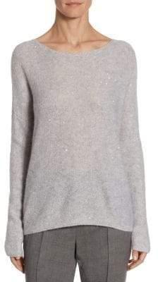 Barbara Lohmann Eddie Mini Sequin And Cashmere Pullover