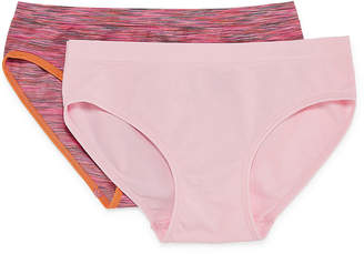 Maidenform 2 Pair Hipster Panty Girls Plus