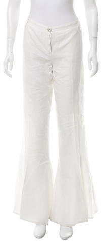 ChanelChanel Mid-Rise Flared Pants