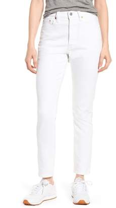 Levi's 501(R) High Waist Skinny Jeans (In the Clouds)