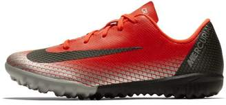 Nike Jr. MercurialX Vapor XII Academy CR7 Younger Kids'Turf Football Shoe