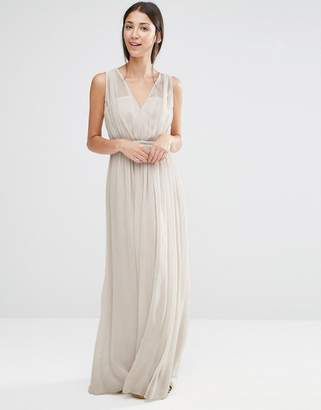 Vila Grecian Maxi Bridesmaid Dress $56 thestylecure.com
