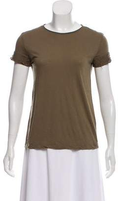 Helmut Lang Distressed Knit Top