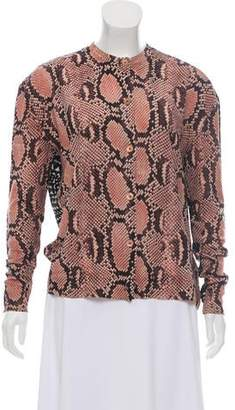 Stella McCartney Virgin Wool Button-Up Cardigan